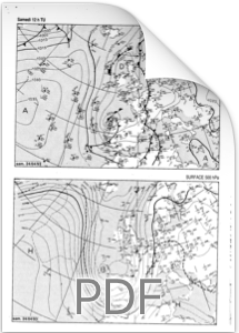 Bulletin Météo France du 23 avril 1993